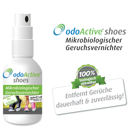 odoActive shoes Geruchsvernichter (50 ml)