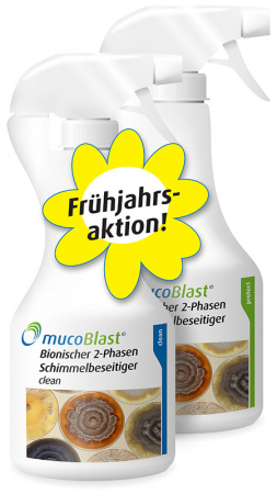 MUCOBLAST-CLEAN & PROTECT (2x 500 ml)